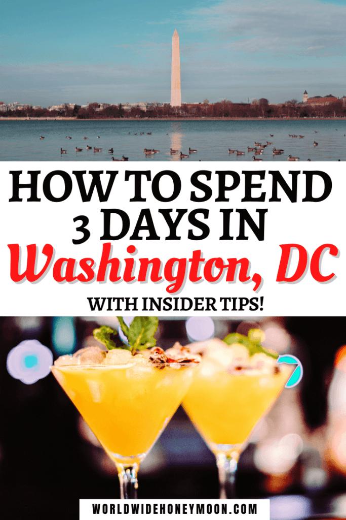 3 Days in Washington DC