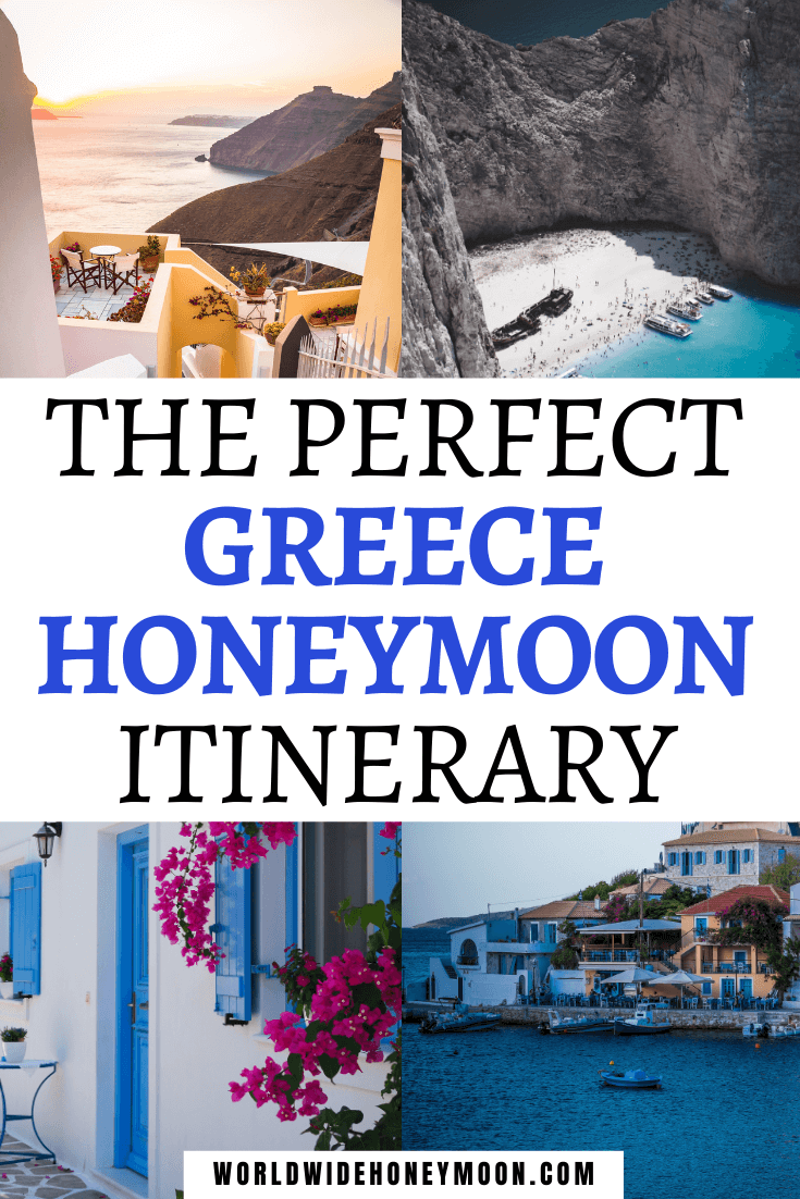 Spend a wildly romantic honeymoon in Greece in just 7 days from beaches to Athens