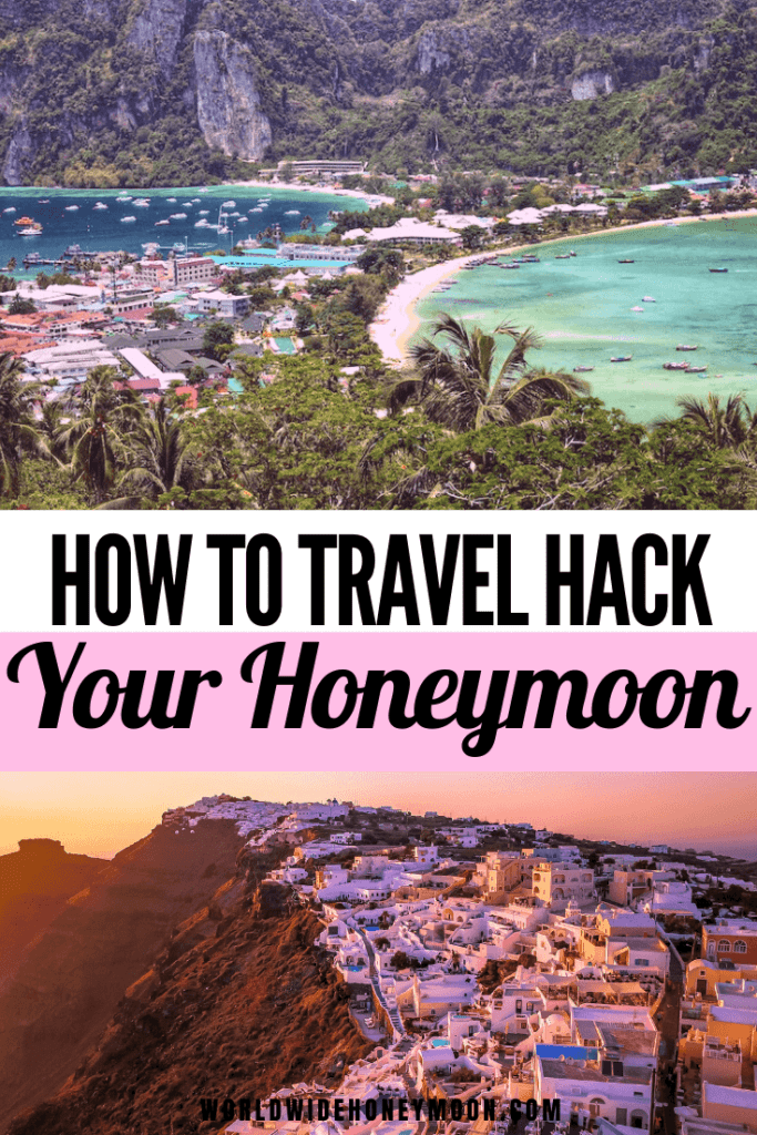 This is how to travel hack your honeymoon | Wedding Credit Cards | Travel Hacking Credit Cards | Travel Hacking For Beginners | Travel Hacking Tips | Miles and Points Travel | Credit Card for Wedding | Wedding Hacks Budget | Honeymoon Budget Ideas | Honeymoon Budget Tips | Honeymoon Hacks Tips | Honeymoon Travel Hacking | Save Money on Your Honeymoon Through Wedding Purchases | Wedding Planning Tips