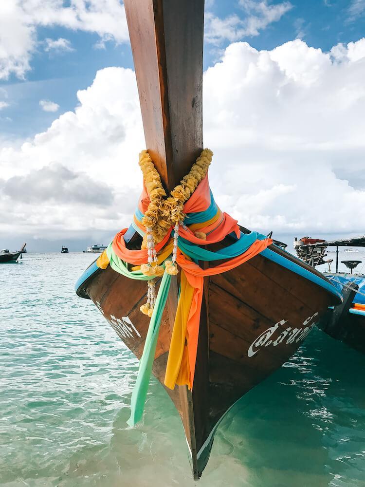 Longtail boat in Koh Lipe