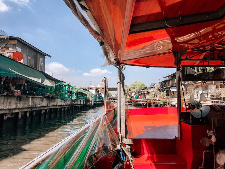 Most Romantic Things to do in Bangkok - Cruise along the canals