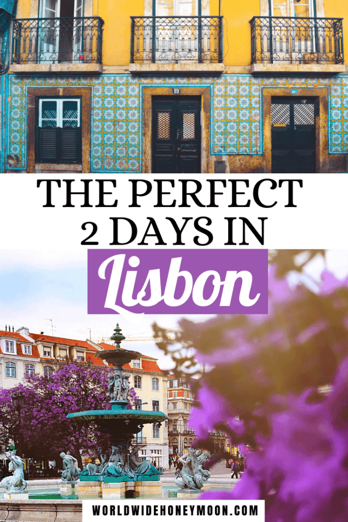This is how to spend 2 days in Lisbon Portugal | Lisbon 2 Days | Lisbon Portugal 2 Days | Lisbon Itinerary 2 Days | Lisbon Portugal Itinerary | 2 Day Lisbon Itinerary | Things to do in Lisbon Portugal | Lisbon Portugal Food | Lisbon Portugal Travel | Where to Stay in Lisbon Portugal | Lisbon Where to Stay | Must See Lisbon Portugal | Lisbon Portugal Day Trips | Best Things to do in Lisbon Portugal | Europe Travel