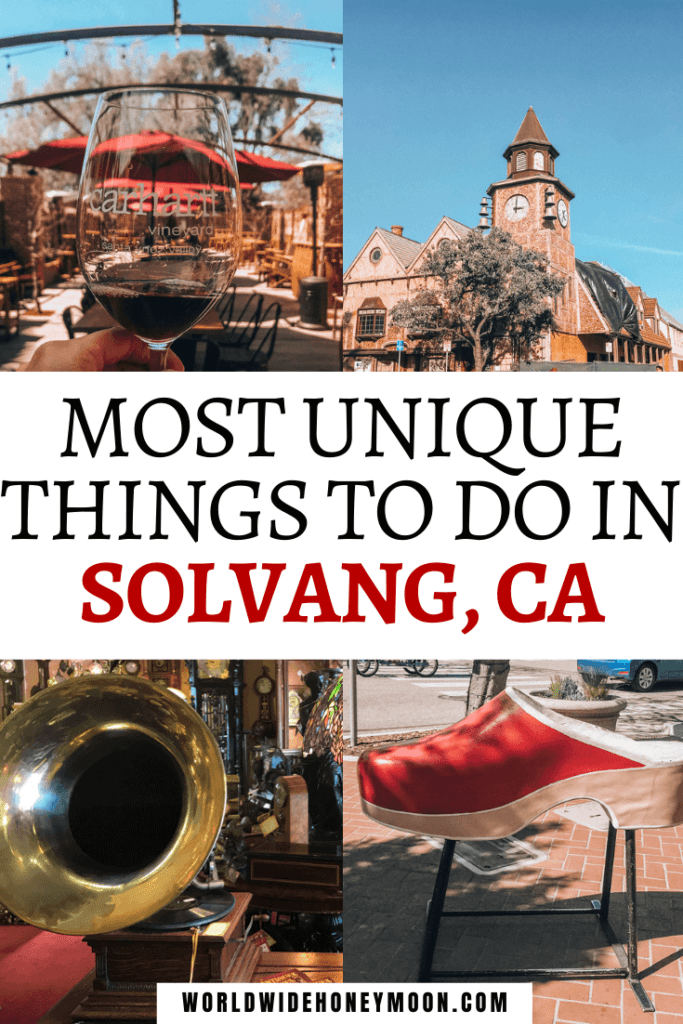 From drinking wine to exploring the Danish town these are the top things to do in Solvang
