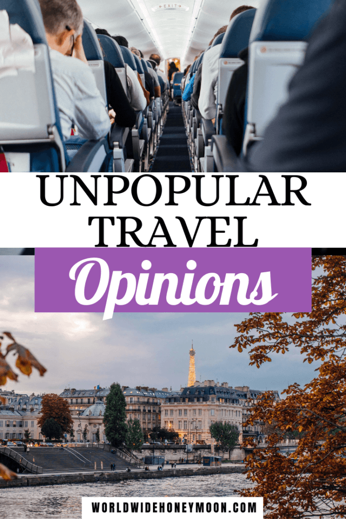 These are the top unpopular travel opinions | Travel Questions Fun | Travel Questions For Couples | Travel Questions to Ask | Overrated Travel Destinations | Airplane Etiquette Tips | Travel Tips | Travel Debates | Travel Podcast