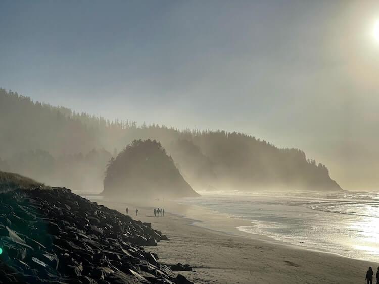 Beach at Neskowin Honeymoon Destinations in the USA