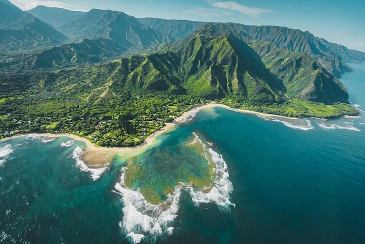 Bird's Eye View of Kauai
