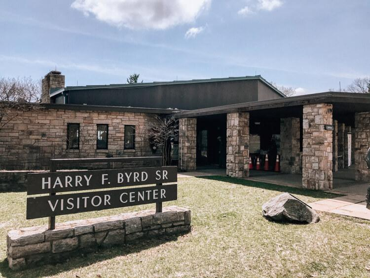 Harry F Byrd Sr Visitor Center building