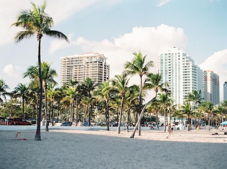 Miami Beach in Florida - Best Honeymoon Destinations in the USA