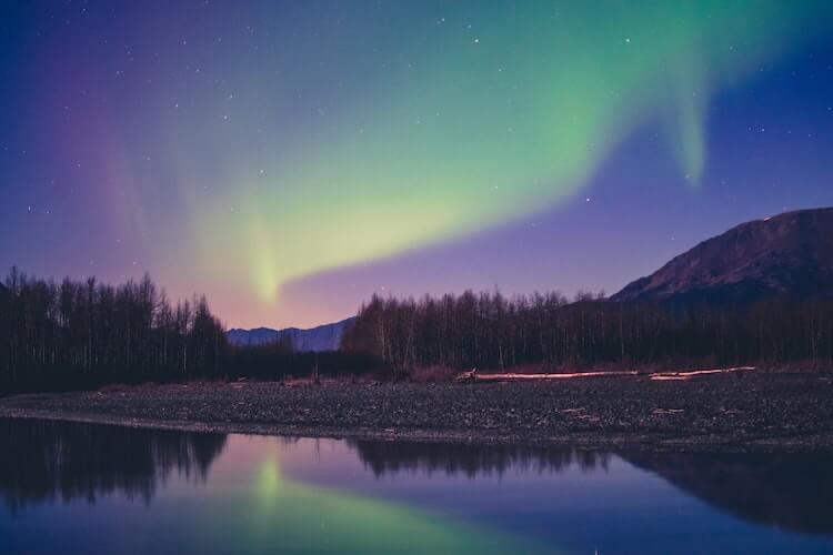 Northern Lights in Alaska - Best Honeymoon Destinations in the USA