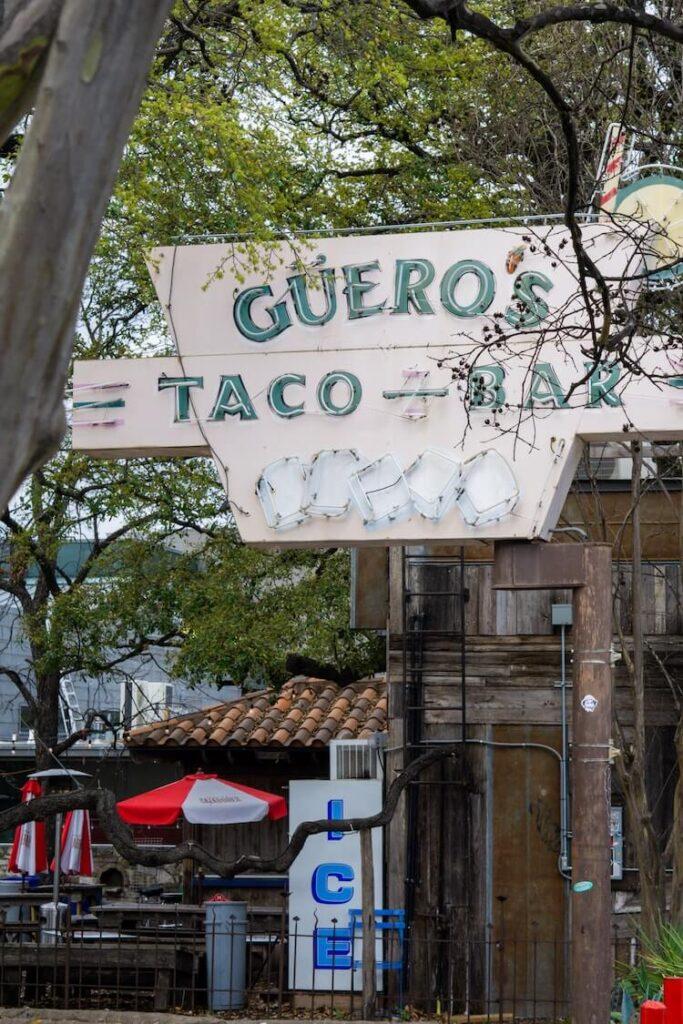 Weekend in Austin |Taco bar in Austin Texas - 3 Days in Austin