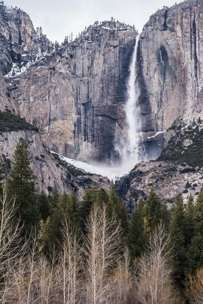 Yosemite Falls in Yosemite National Park