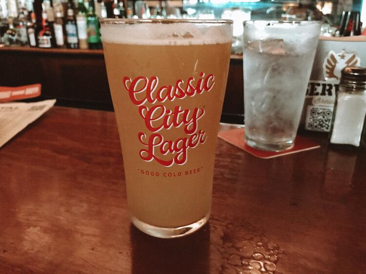Beer at Crystal Beer Parlor - Weekend in Savannah