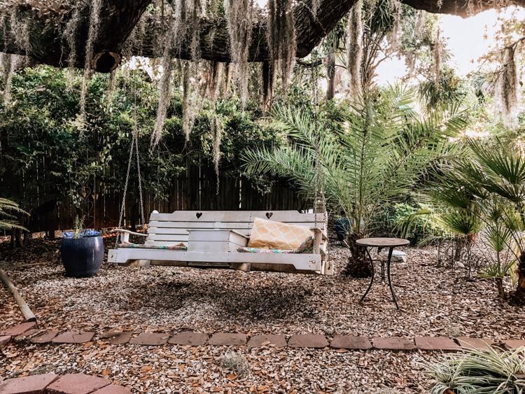 Bench at Tybee Island Inn