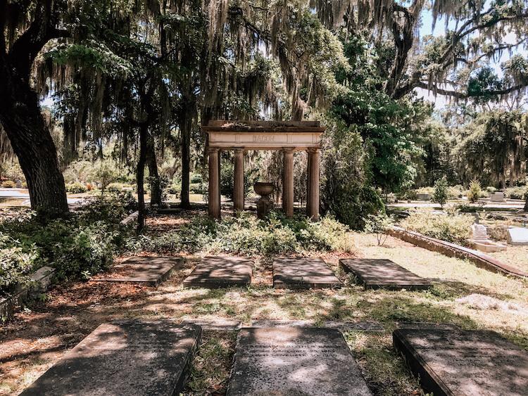 Bonaventure Cemetery - Savannah Itinerary