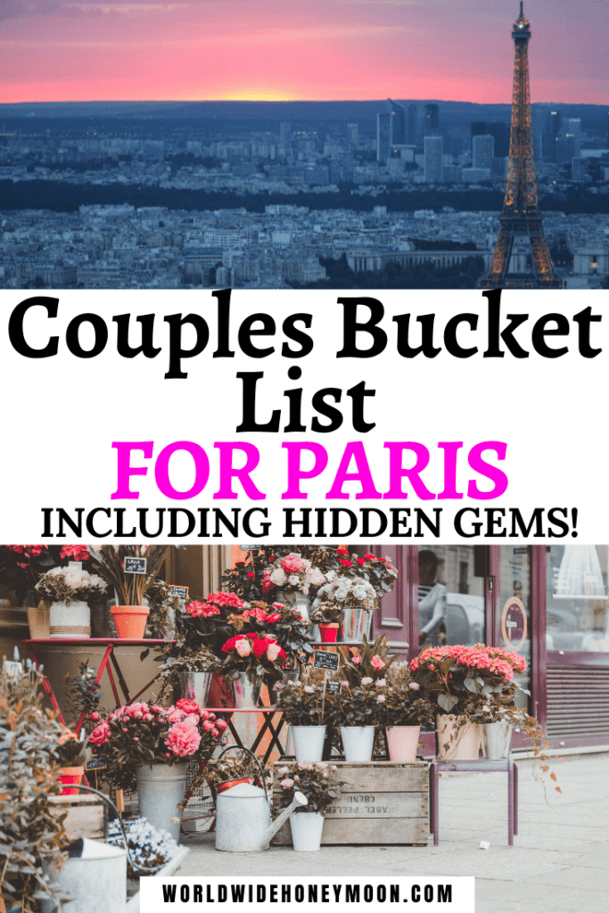 Bucket List for Paris For Couples (1)