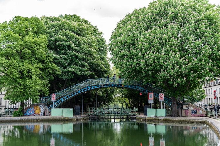 Canal Saint Martin during the day
