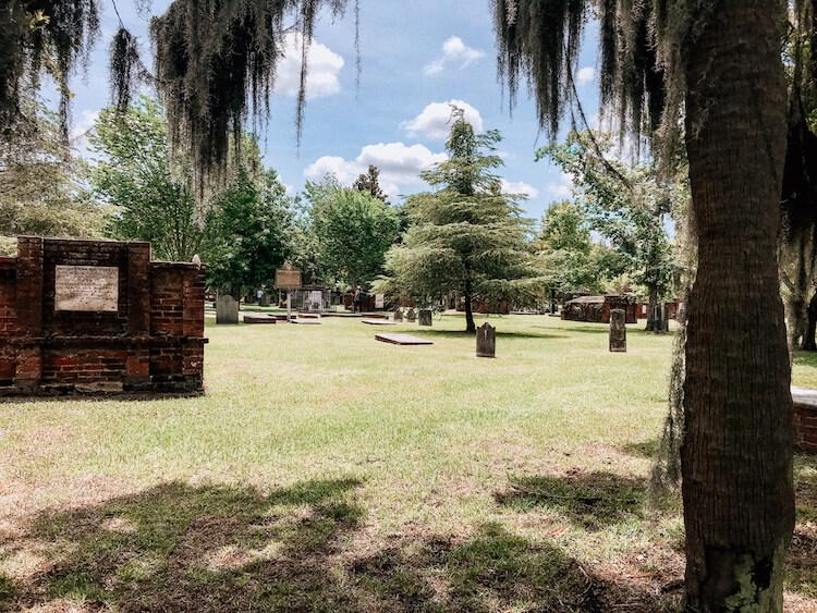 Cemetery in Savannah