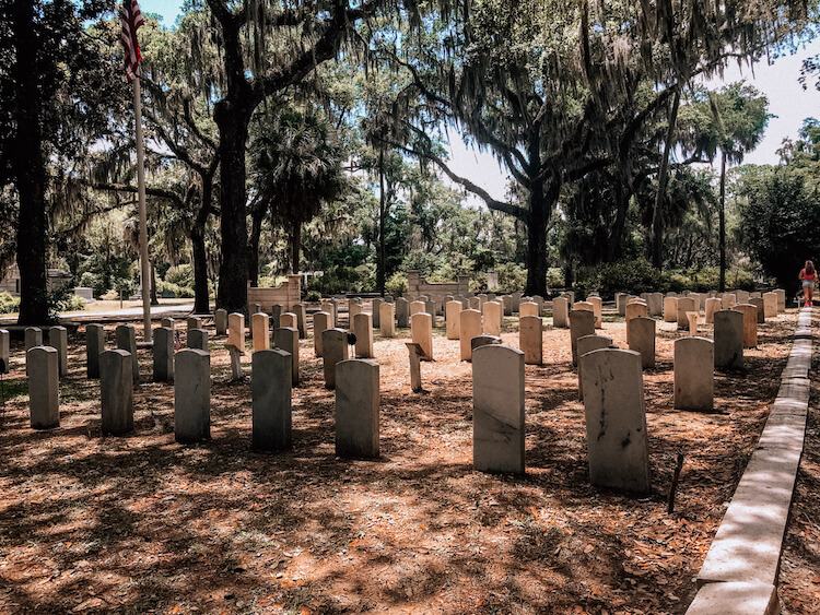 Military Cemetery at Bonaventure