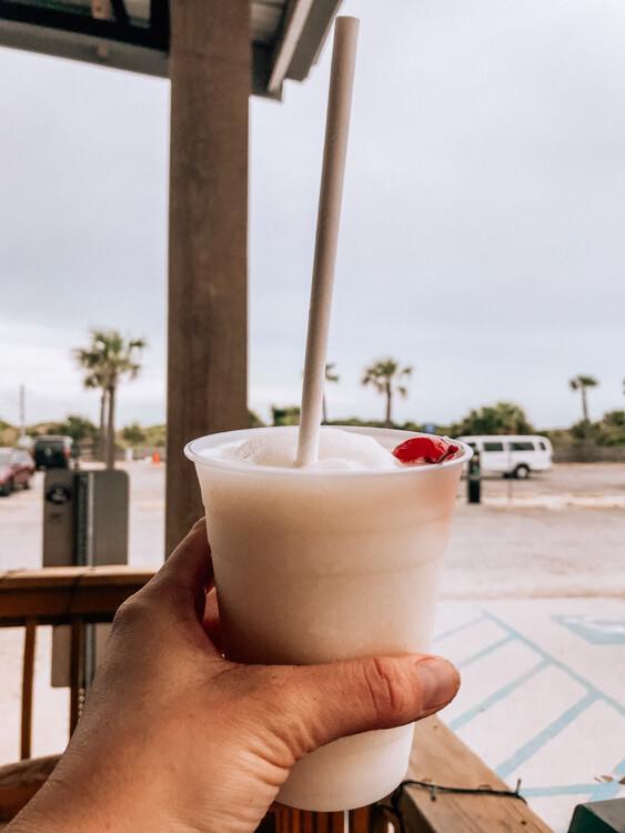 Pina Colada at North Beach Bar and Grill