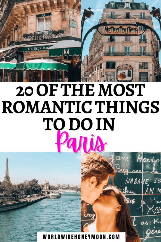 Romantic Things to do in Paris For Couples