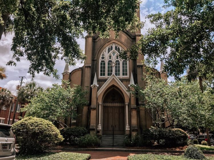 Synagogue in Savannah