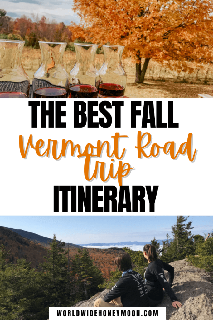 Vermont Road Trip Itinerary