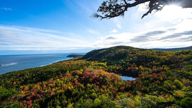 Acadia National Park in the fall