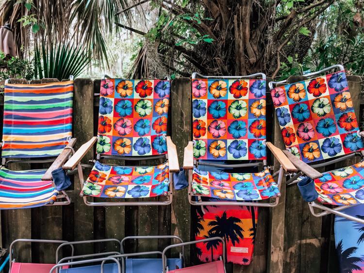 Beach Chairs at Tybee Island Inn