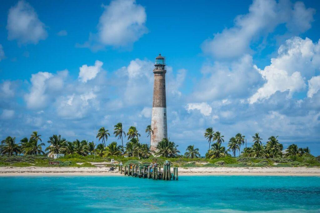 Dry Tortugas National Park lighthouse - National Park Honeymoon