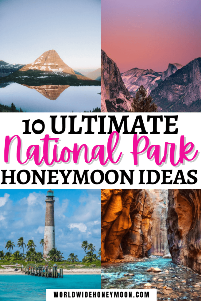 National Park Honeymoon Ideas