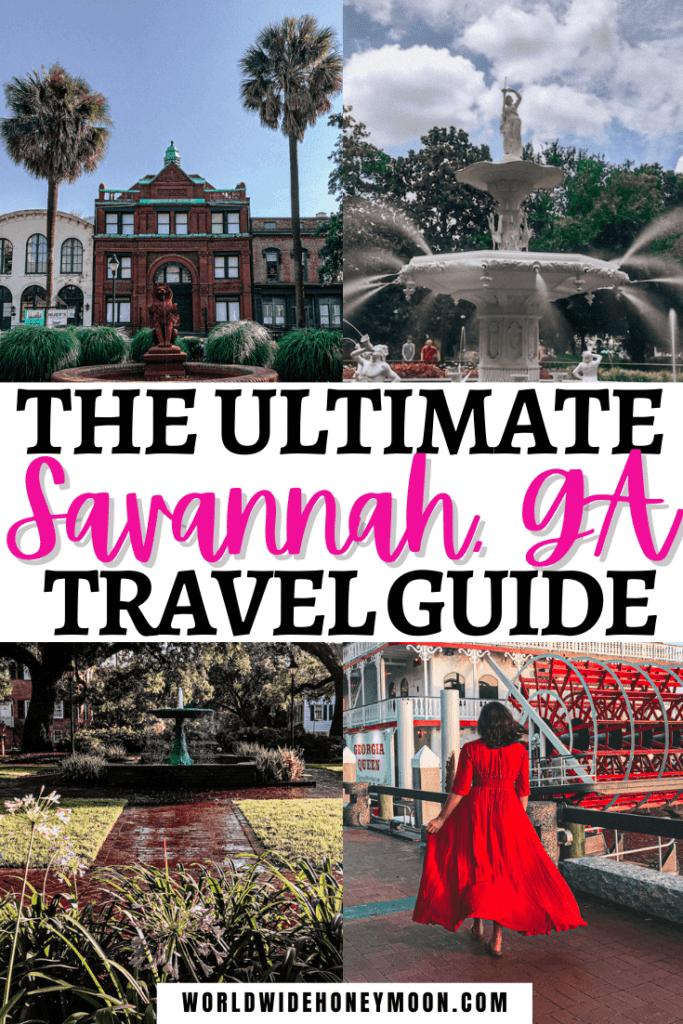 Savannah Georgia Travel Guide