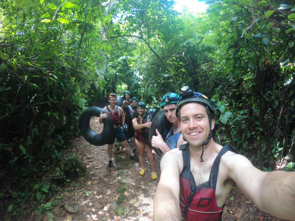 Ziplining and River Tubing in Belize
