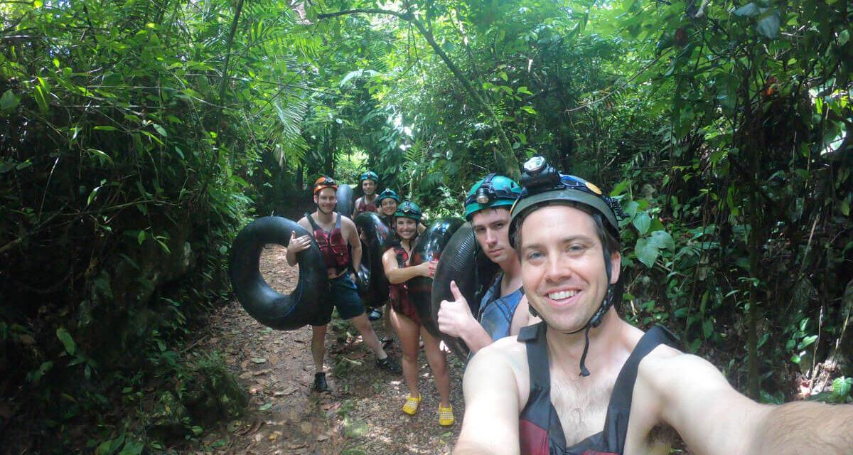 River Tubing and Ziplining in Belize