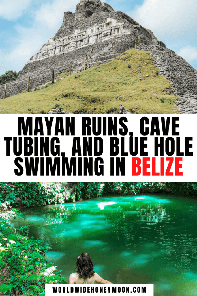 Mayan Ruins, Blue Hole Swimming, and Cave Tubing in Belize