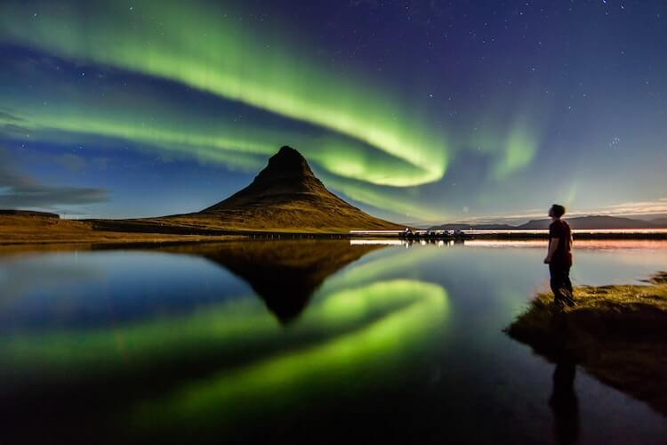 Northern Lights in Iceland - October Honeymoon Destinations