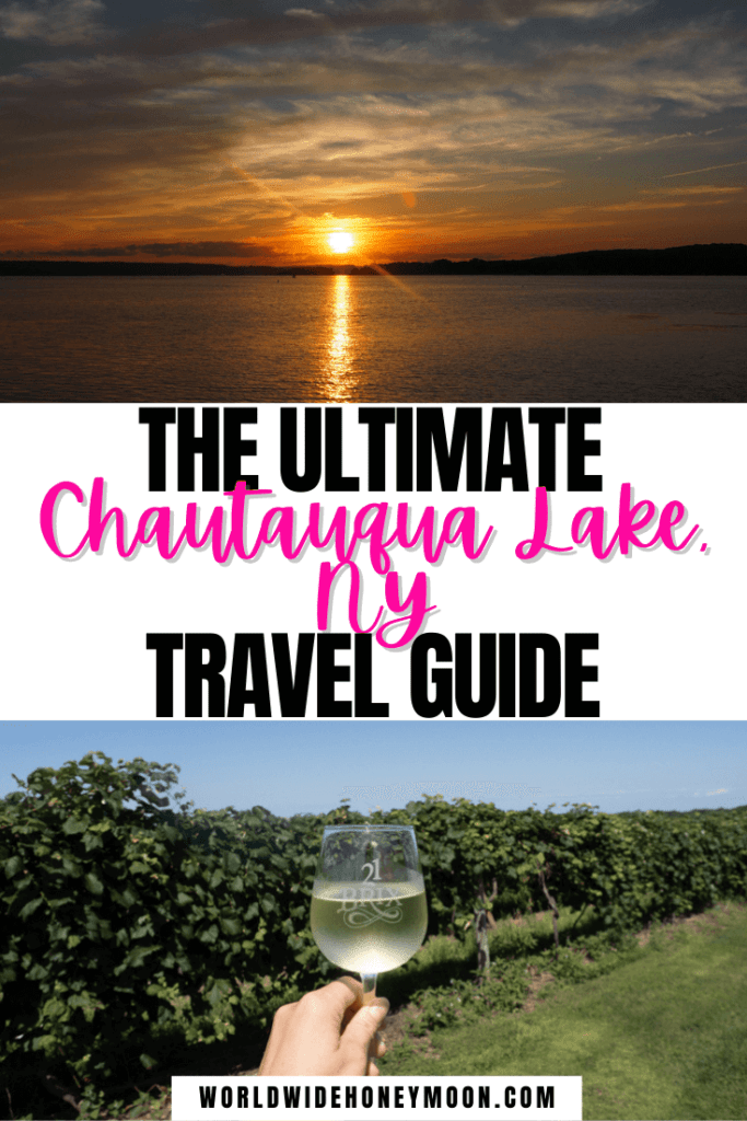 Travel to Chautauqua Lake NY