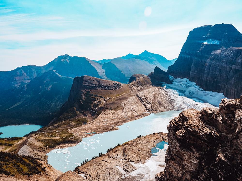 Grinnell Glacier via the Garden Wall Trail