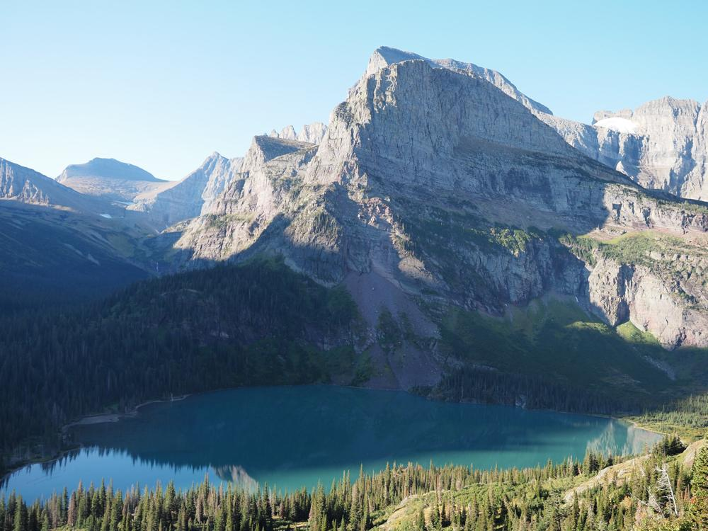 Grinnell Lake on the Grinnell Glacier Trail | 7 Days in Glacier National Park