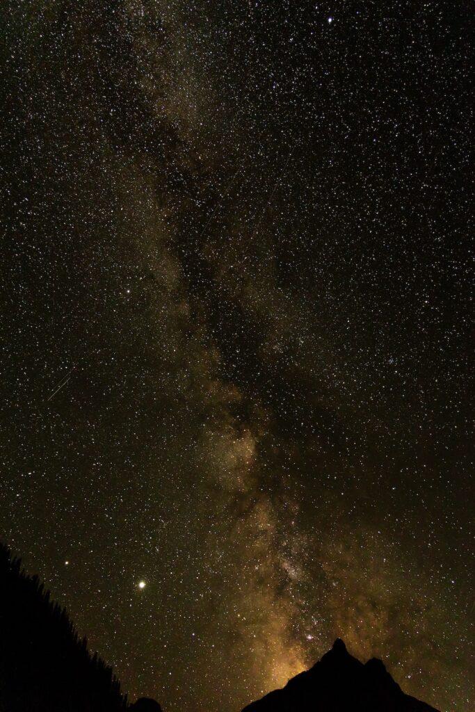 Stargazing at Glacier National Park