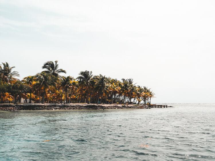 Beautiful island in Belize - Belize Honeymoon