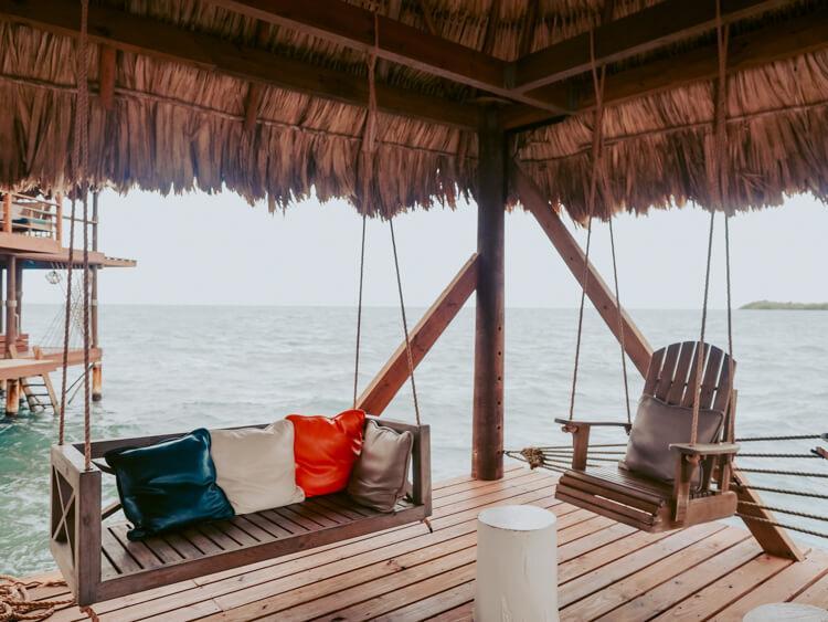 Big Dock Bar in Hopkins - Belize Itinerary