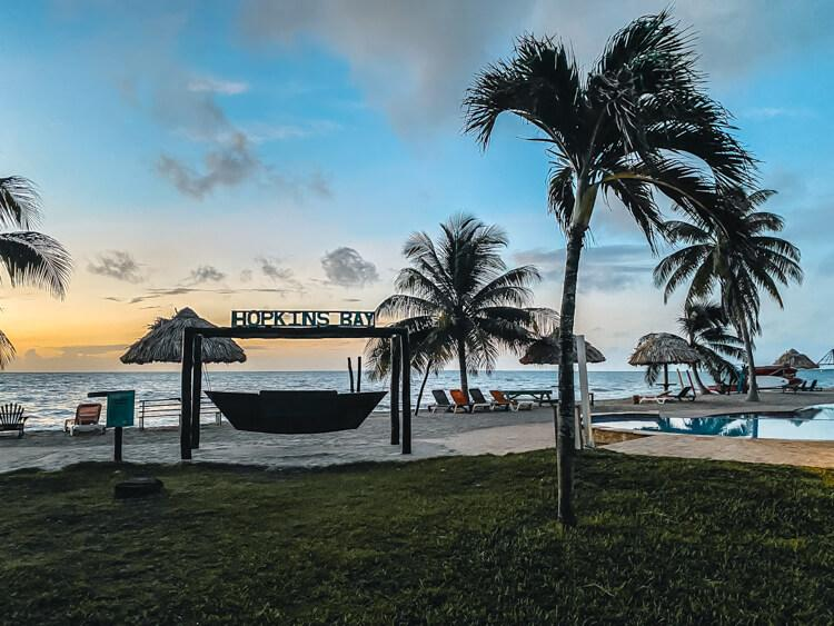 Hopkins Bay Resort - Belize Itinerary