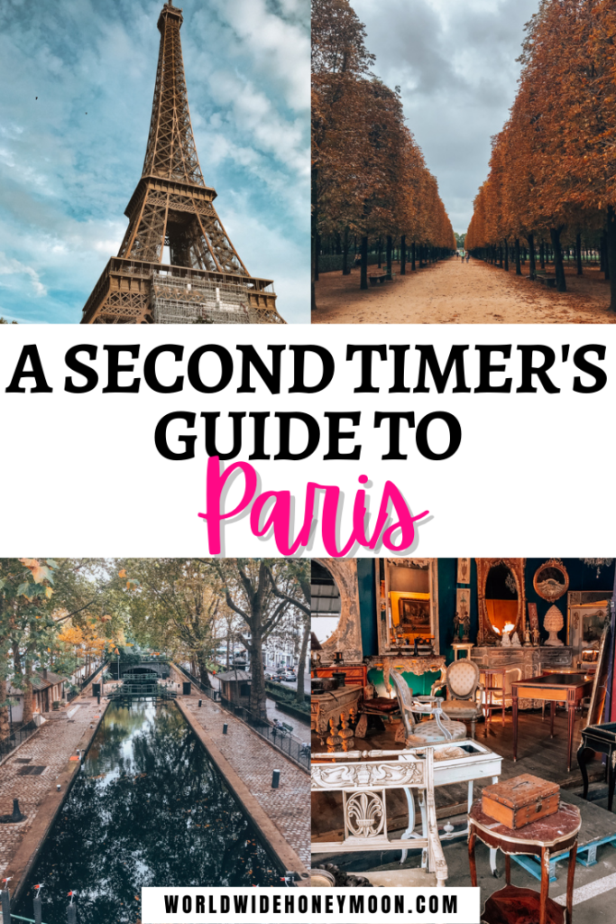 Second Timer's Guide to Paris