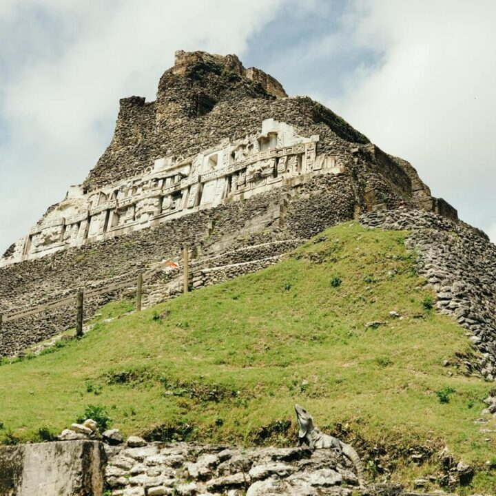 The Ultimate Belize Itinerary - Xunantunich main pyramid