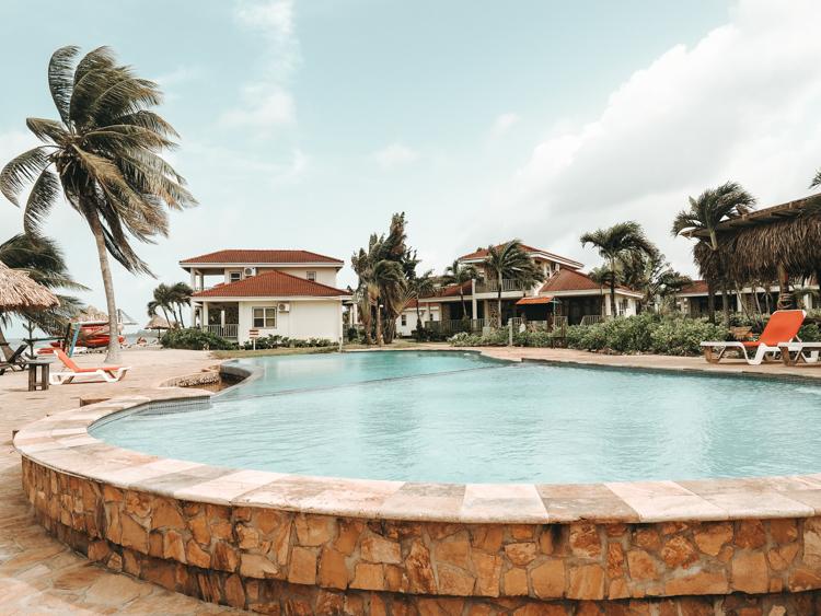 Views of the pool at Hopkins Bay Resort